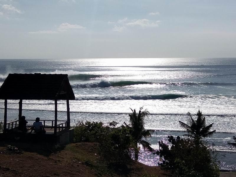波が大きくなるとこんな感じ