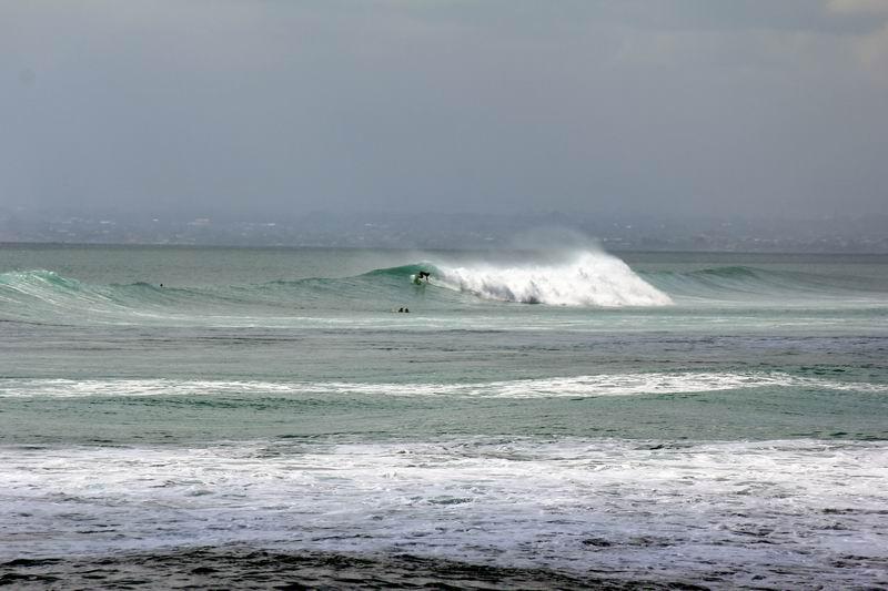 波は引き際に良くなります。午前中より午後の引き際が良い波になります。