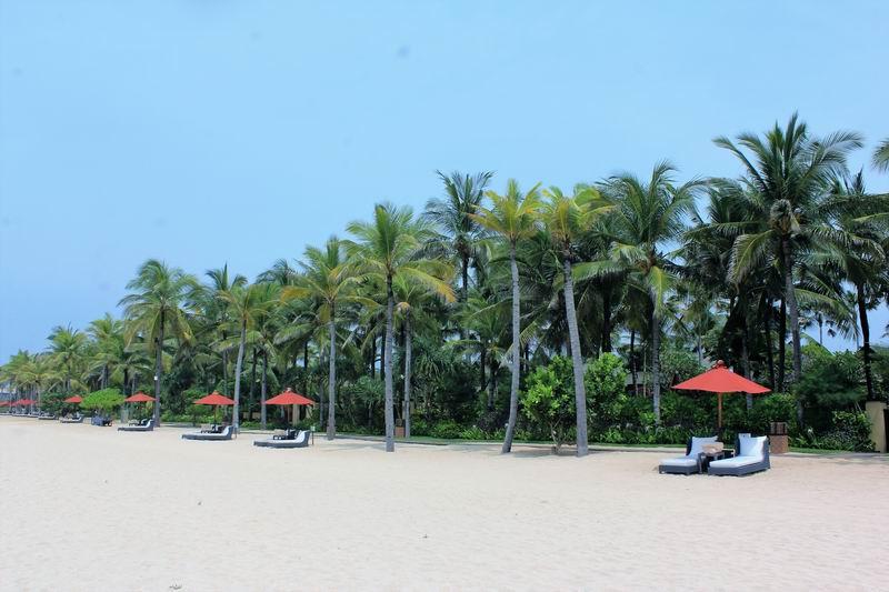 右を見ても左を見ても真っ白な長い砂浜が続き、バリの中でもトップレベルの綺麗なビーチです。