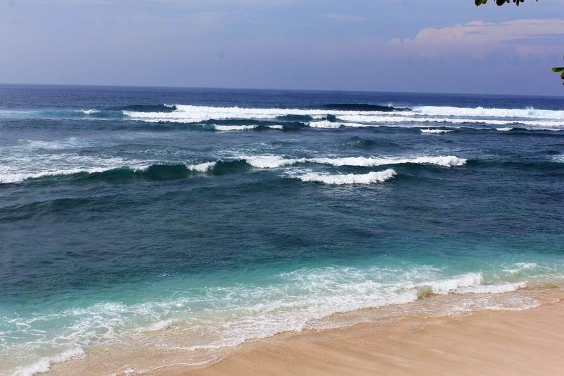 波のブレークポイントまでは100Mほど途中強いカレントがあるので要注意、カレントには逆らわずパドルしましょう。